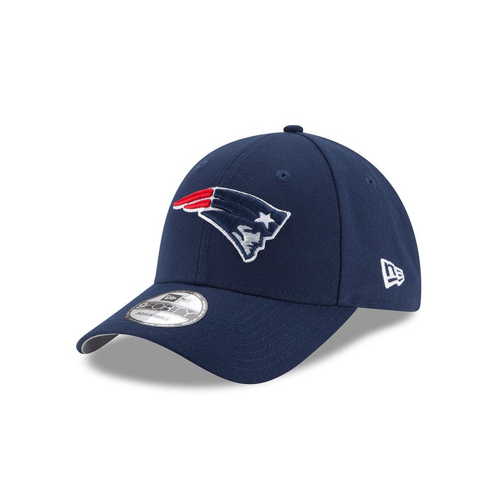 sports shoes 7978c 54b56 ... norway new era new england patriots baseball cap.9forty nfl league  essential blue hat 7